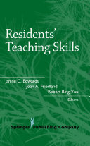 Residents' Teaching Skills