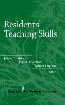 Residents        Teaching Skills
