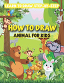 How to Draw Animal for Kids-learn to Draw Step by Step
