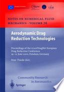 Aerodynamic Drag Reduction Technologies