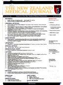 New Zealand Medical Journal