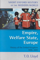 Empire  Welfare State  Europe