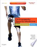 DeLee and Drez s Orthopaedic Sports Medicine E Book Book