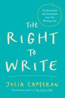 The Right to Write Pdf/ePub eBook