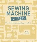 Sewing Machine Secrets Book