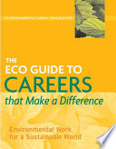 The Eco Guide To Careers That Make A Difference