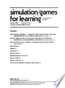 Simulation/games for Learning