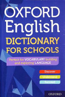 Oxford English Dictionary for Schools Book