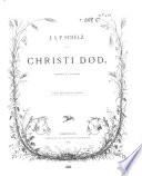 Christi død; oratorium af J. Baggesen, Christi død Vocal score