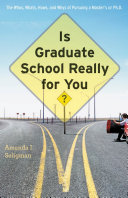 Is Graduate School Really for You? Pdf/ePub eBook