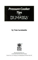 Pressure Cooker Tips for Dummies