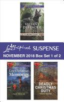 Harlequin Love Inspired Suspense November 2018 - Box Set 1 of 2