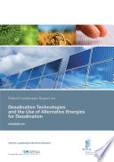 Patent Landscape Report on Desalination Technologies and the Use of Alternative Energies for Desalination