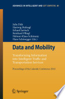 Data And Mobility Book PDF