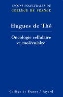 Pdf Oncologie cellulaire et moléculaire Telecharger