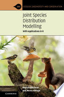 Joint Species Distribution Modelling Book