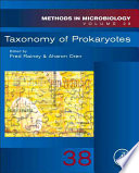 Taxonomy of Prokaryotes