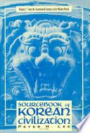 Sourcebook of Korean Civilization