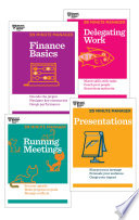 The HBR 20 Minute Manager Collection  8 Books   HBR 20 Minute Manager Series