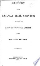 History Of The Railway Mail Service