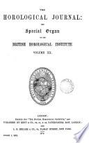The Horological Journal