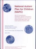 National Autism Plan for Children (NAPC)