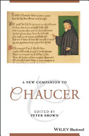 A New Companion to Chaucer Pdf/ePub eBook