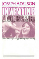 Inventing Adolescence