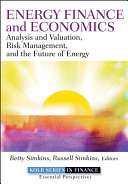 Energy Finance and Economics Book