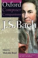 J S  Bach Book