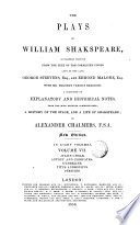 The Plays of W  Shakespeare  7 Book