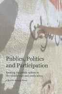 Publics  Politics and Participation