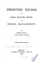Introductory Text book to School Education  Method  and School Management Book