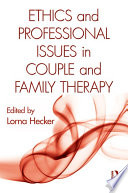 Ethics And Professional Issues In Couple And Family Therapy PDF