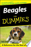 """Beagles For Dummies"" by Susan McCullough"