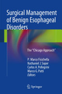 Surgical Management of Benign Esophageal Disorders