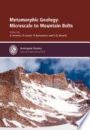 Metamorphic Geology Book