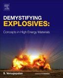 Demystifying Explosives Book