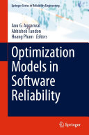 Optimization Models in Software Reliability