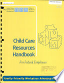 Child Care Resources Handbook For Federal Employees
