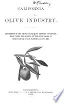 Proceedings Of The State Convention Of Olive Growers Book PDF