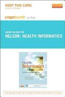 Health Informatics Pageburst E Book On Kno Retail Access Card