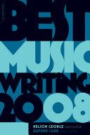 Best Music Writing 2008