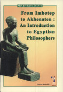 From Imhotep to Akhenaten