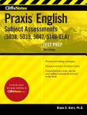 CliffsNotes Praxis II English Subject Area Assessments 3rd Edition