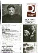 Defence Journal Book