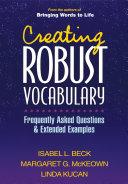 Creating Robust Vocabulary