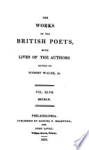 The Works Of The British Poets Cam Es Luiz De The Lusiad Or The Discovery Of India Tr By Wm Julius Mickle