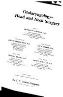Otolaryngology  Head and Neck Surgery Book
