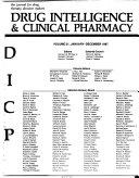 Drug Intelligence & Clinical Pharmacy